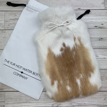 Luxury Rabbit Fur Hot Water Bottle - Large - #209 - Premium/3