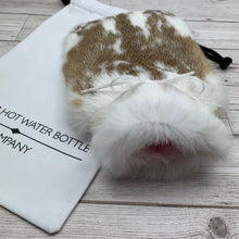 Luxury Rabbit Fur Hot Water Bottle - Small - #226/2