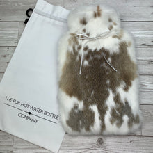 Luxury Rabbit Fur Hot Water Bottle - Large - #181/3