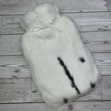 Luxury Rabbit Fur Hot Water Bottle - Large - #205/1