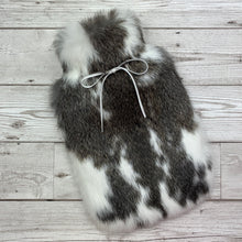Luxury Rabbit Fur Hot Water Bottle - Small - #224 - Premium/3