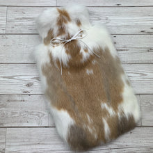 Rabbit Fur Luxury Hot Water Bottle - Large - #234/3