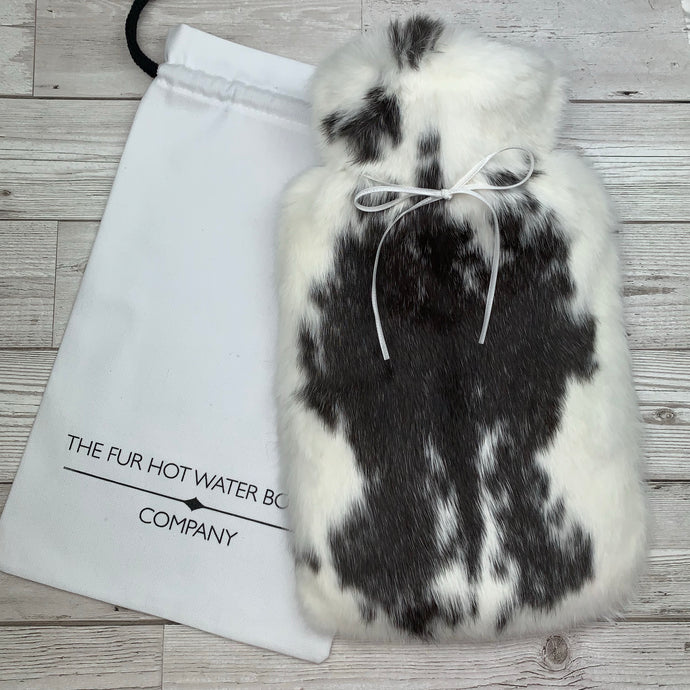 Luxury Real Fur Hot Water Bottle - Large - #210/1