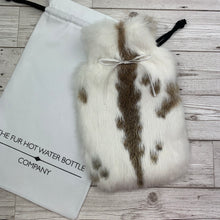 Luxury Rabbit Fur Hot Water Bottle - Small - #227/3