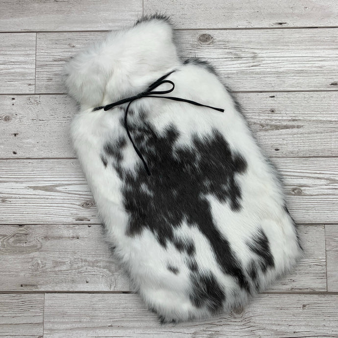 Luxury Rabbit Fur Hot Water Bottle - #243/1