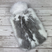 Rabbit Fur Luxury Hot Water Bottle - #132 - photo 1