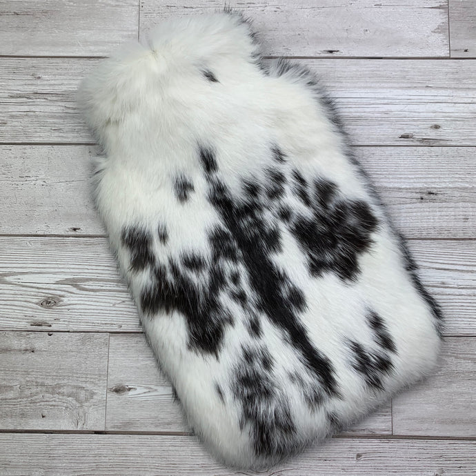 Luxury Real Fur Hot Water Bottle - Large - #164/1