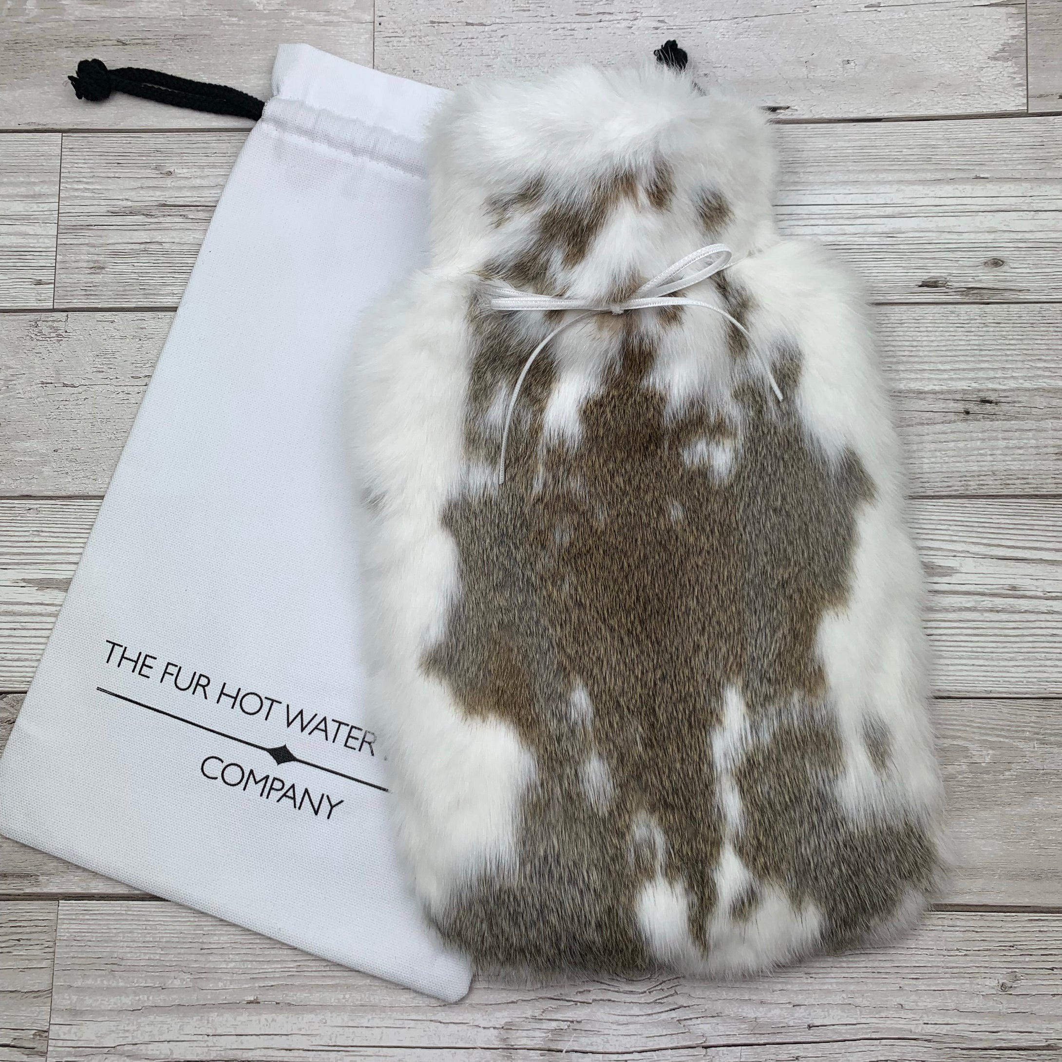 Luxury Real Fur Hot Water Bottle - Large - #230/1