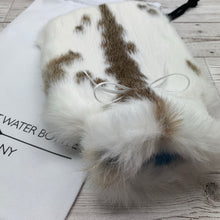 Luxury Rabbit Fur Hot Water Bottle - Small - #227/2
