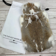 Luxury Rabbit Fur Hot Water Bottle - Large - #199