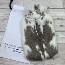 Real Fur Hot Water Bottle - Large - #211