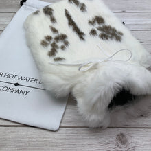 Luxury Fur Hot Water Bottle - Large - #212/2