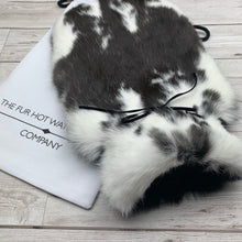 Rabbit Fur Hot Water Bottle - Large - #162/2