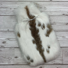 Luxury Rabbit Fur Hot Water Bottle - Small - #227/1