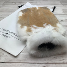 Luxury Rabbit Fur Hot Water Bottle - Large - #191/2