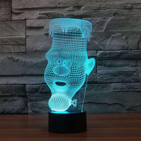 3D Candy Man - LED Lamp