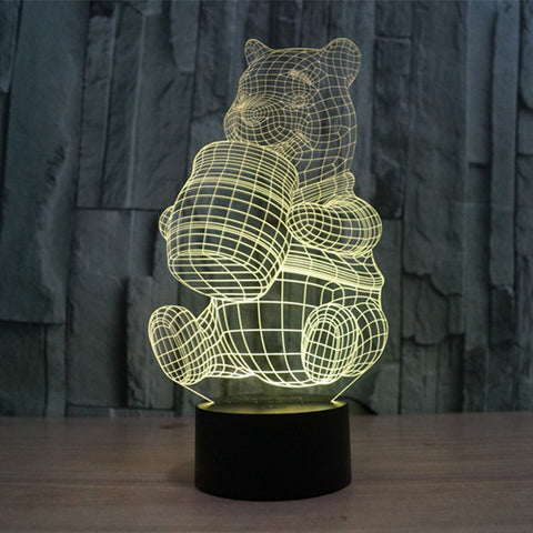 3D  Muntant Ninja Turtles - LED Lamp