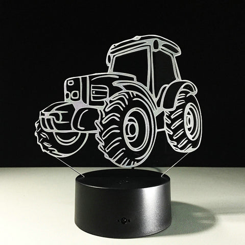 3D Tractor - LED Lamp