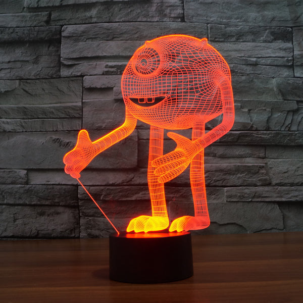 3D One-eyed - LED Lamp