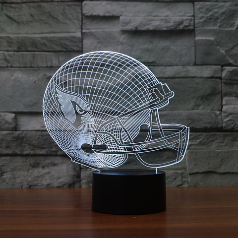 3D Arizona Cardinals - LED Lamp