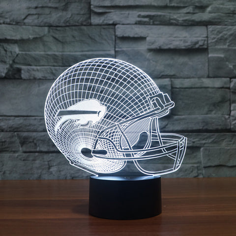 3D Buffalo Bills - LED Lamp