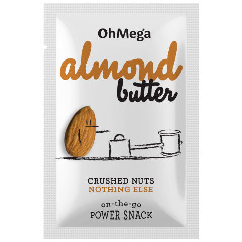 Crede Almond Butter Sachets: 10 x 32g pack