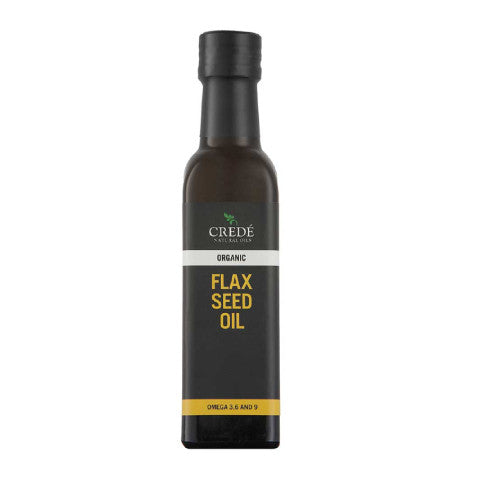 Crede Organic Flaxseed Oil: 250ml & 500ml