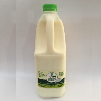 Mooberry Farms 2L Milk - Farm Fresh:  Raw & Pasteurised:  Low Fat \ Full Cream