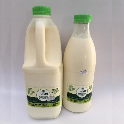 Mooberry Farms Milk - Farm Fresh:  Raw & Pasteurised:  Low Fat \ Full Cream