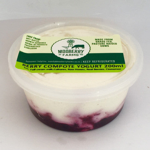 Mooberry Farms Mixed Berry Compote: 250ml, 500ml & 1 ltr