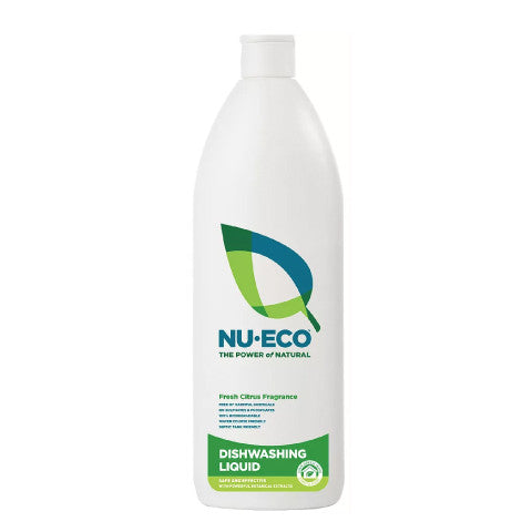 Nu-Eco Dishwashing Liquid: 750ml & 5 Litres