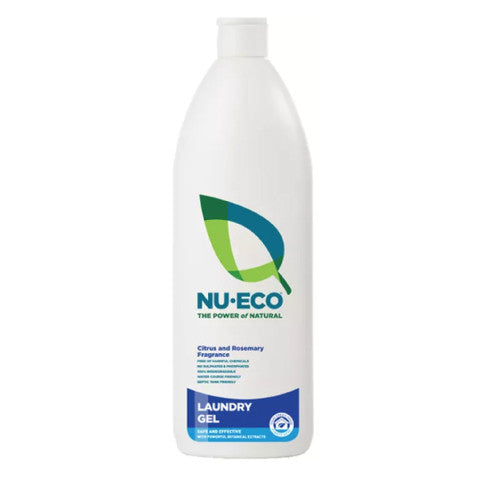Nu-Eco Laundry Gel: 750ml & 5 Litres