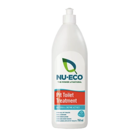 Nu-Eco Pit Toilet Treatment 750ml & 5 Litres