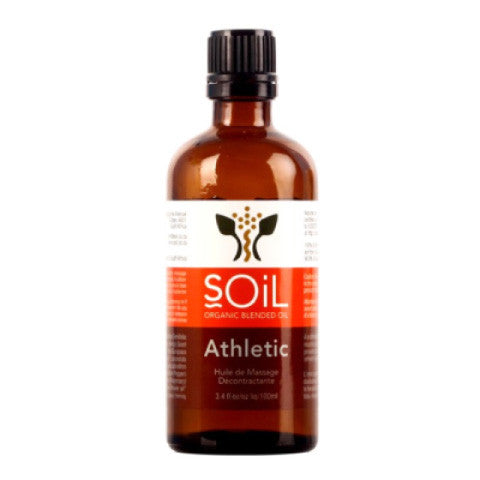 SOiL Organic Athletic Massage Blend Oil 100ml