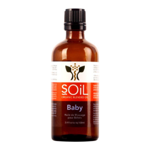 SOIL Organic Baby Massage Blend Oil: 100ml