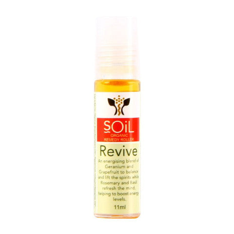SOiL Organic Revive Remedy Roller: 10ml