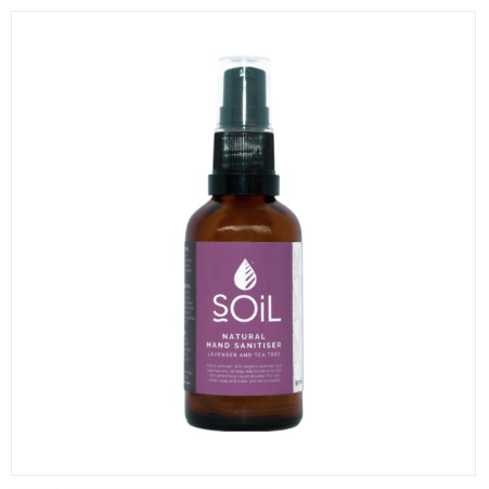 SOIL Lavender and Tea Tree Hand Sanitiser 50ml