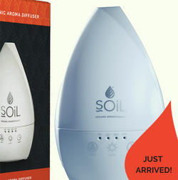 SOIL Ultrasonic Aroma Diffuser (for essential oils)