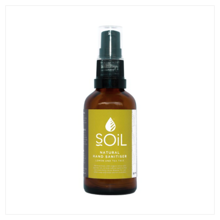 SOIL Lemon and Tea Tree Hand Sanitiser 50ml