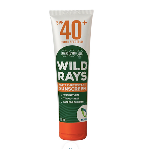Wild Rays Water-Resistant Sunscreen 100ml