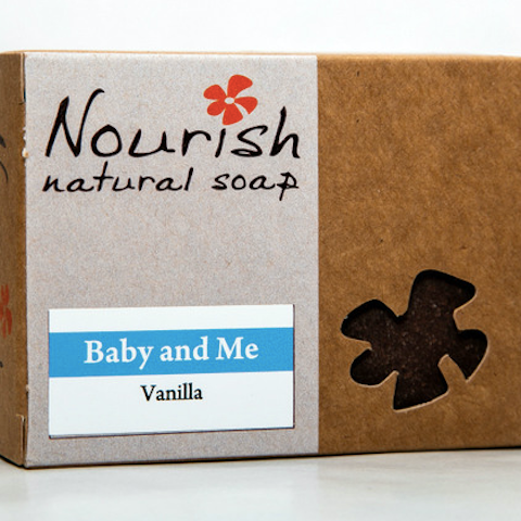 Nourish Natural Soap - Baby & Me Body Bar