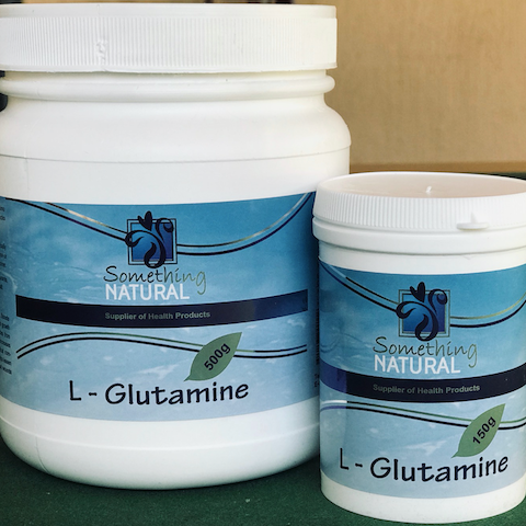 Something Natural - L-Glutamine 250g & 500g