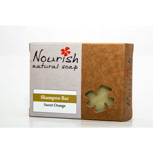 Nourish Natural Soap - Shampoo Bar - Sweet Orange