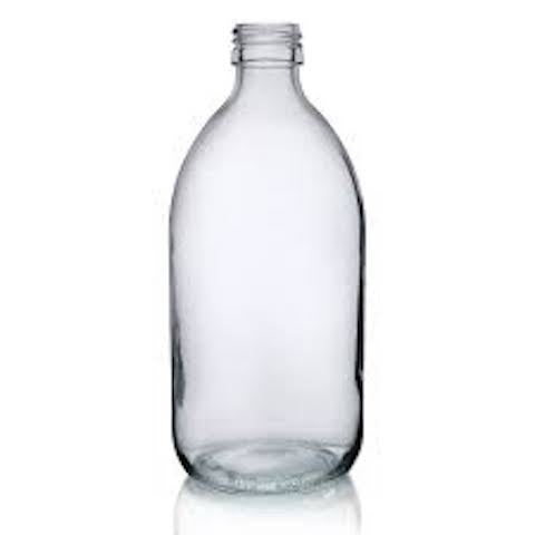 REFILL Glass Bottle - 500ml & 1L (Kombucha & Water Kefir)