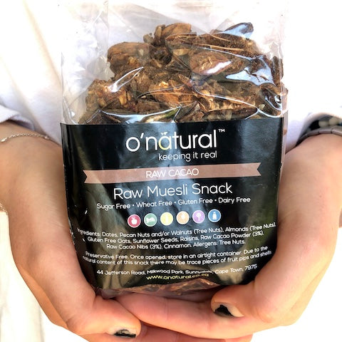 O'Natural Raw Muesli Snack - Cacao - 300g