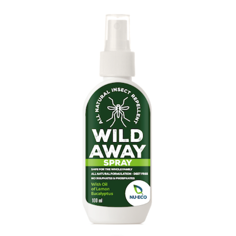 Wild Away Natural Insect Repellent 100ml