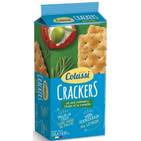 Colussi Crackers Olive & Rosemary 250g