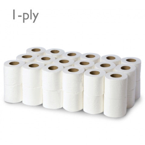 Environmentally Friendly Toilet Paper 48 x 1-ply (500 sheets)