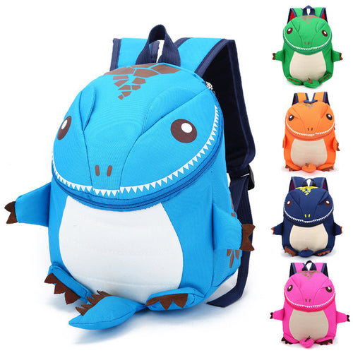 Zipper Mouth Dinosaur Friend Backpack for Kids