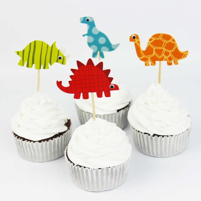 Dino Cupcake Toppers (72pcs)